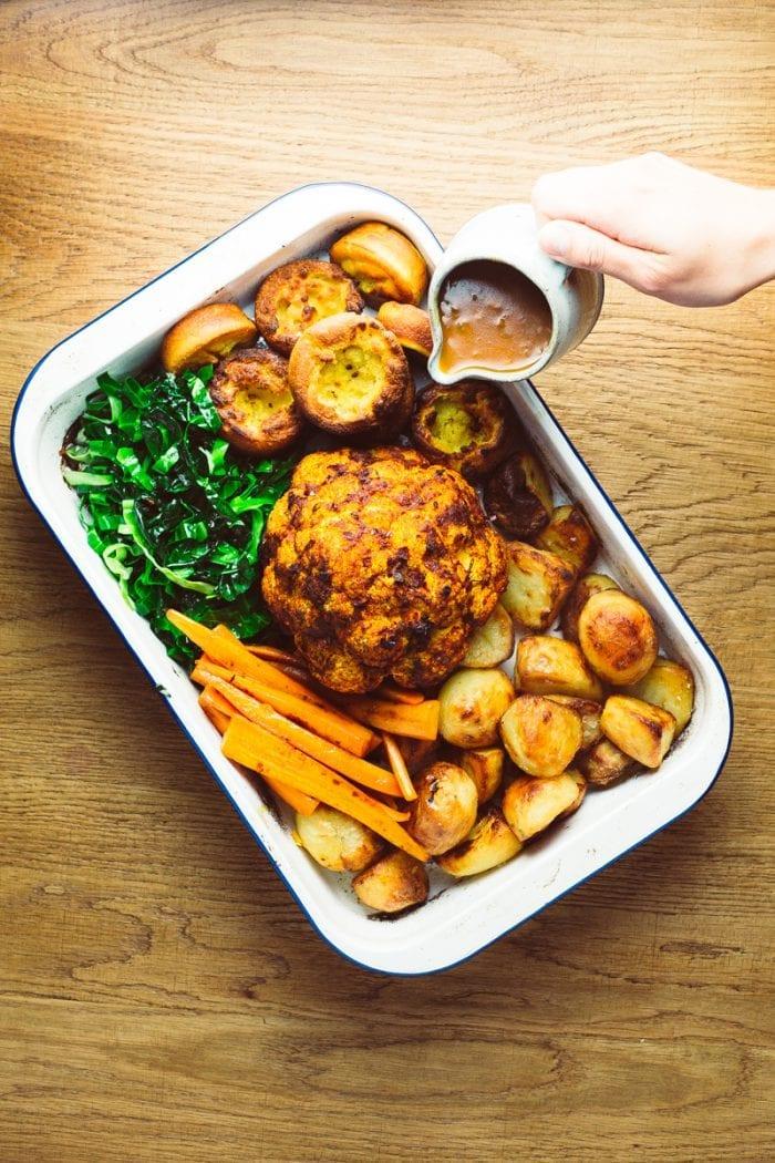 Vegan sunday roast profile
