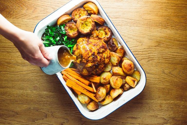 Vegan sunday roast