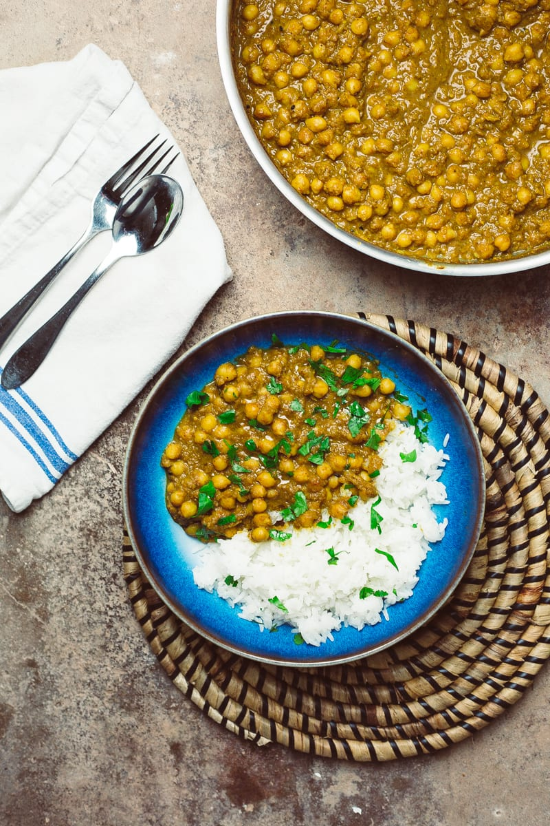 Quick Chickpea Curry Profile