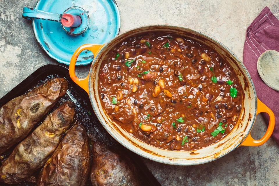 Simple Three Bean Chilli