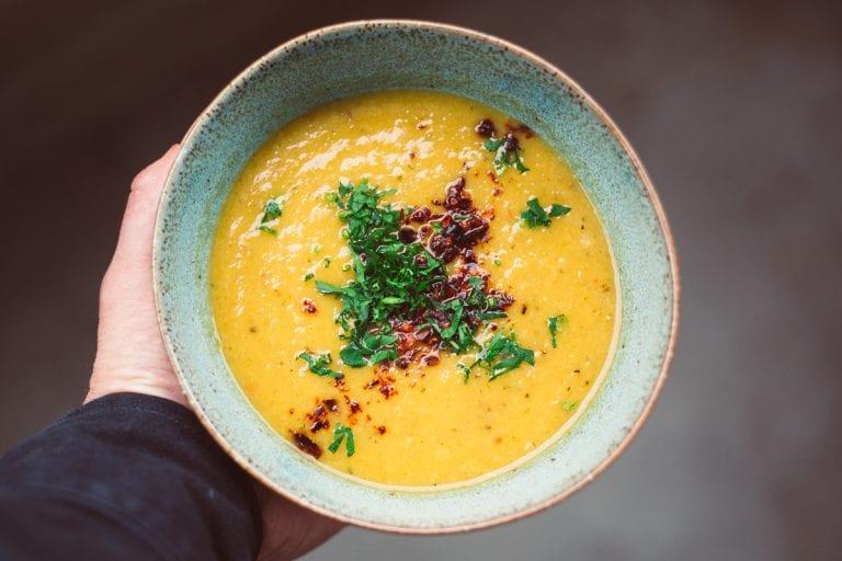 swede and lentil soup