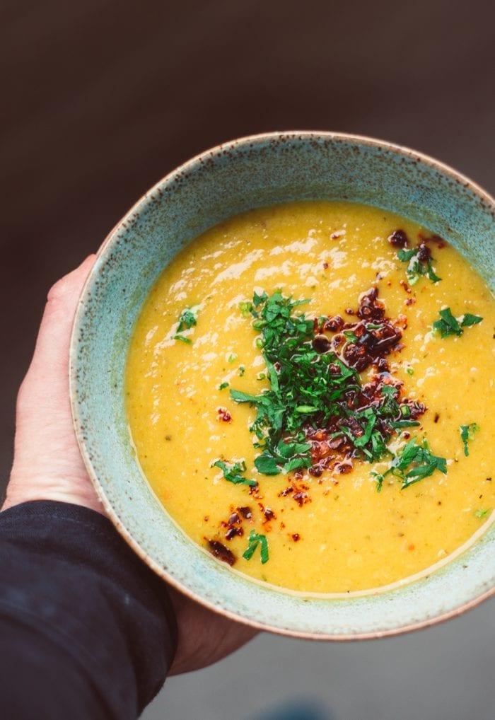 swede and lentil soup profile