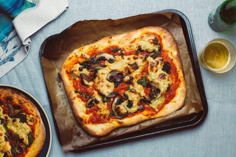 Sheet Pan Vegan Pizza