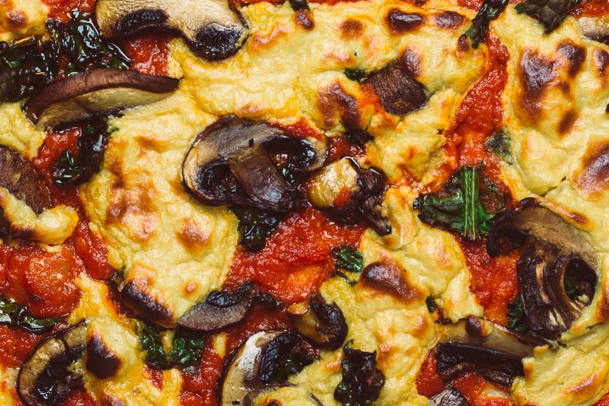easy vegan pizza cheese