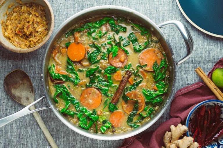 sweet potato massaman curry