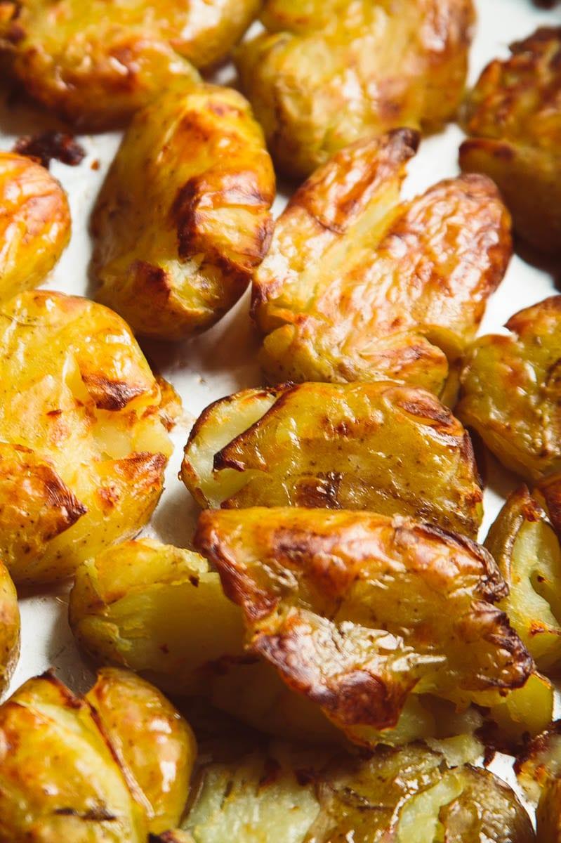 roast new potatoes plain